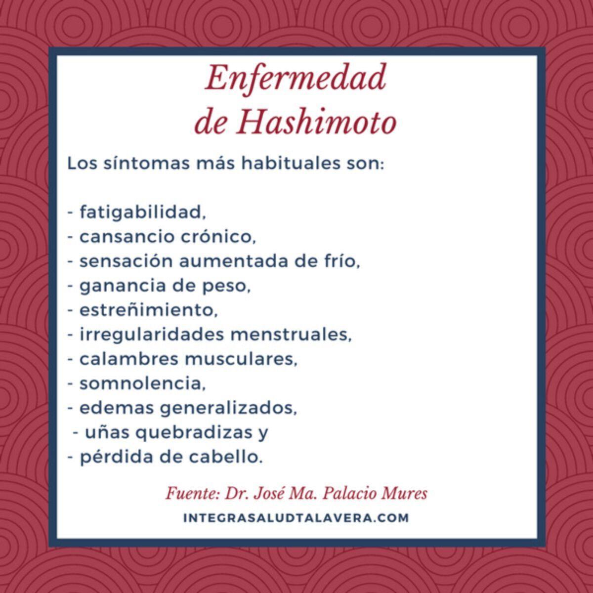 La tiroiditis de Hashimoto es una enfermedad autoinmune