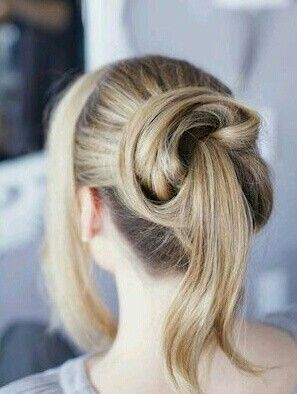 Ponytail #Hairstyles