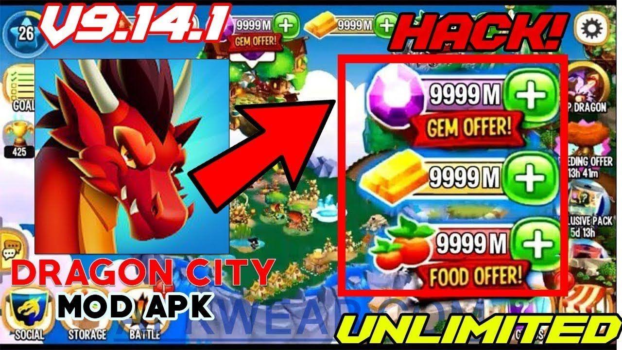 Dragon City Hack/Mod Apk v9.14.1 Hack Unlimited Gems
