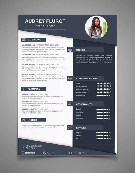 Exemple De Cv Original Cv 56 Maxi Cv Plus Cv Ideas Pinterest