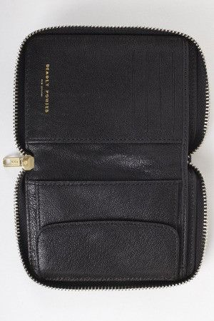 Deadly Ponies Wallet Good As Gold Mr Mini Wallet Black Bags