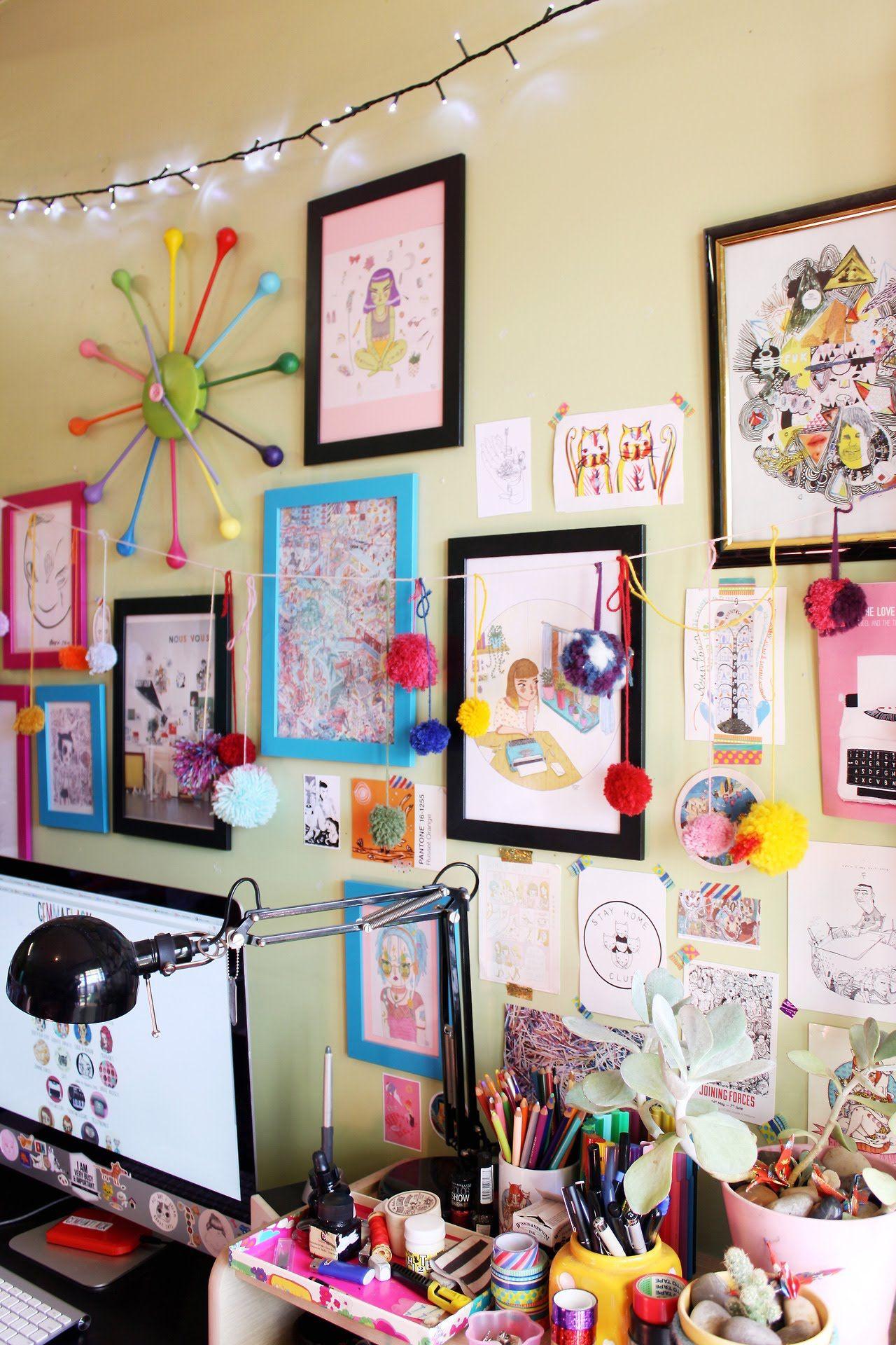 My 3d Room Design: Studio - Gemma Flack Illustration