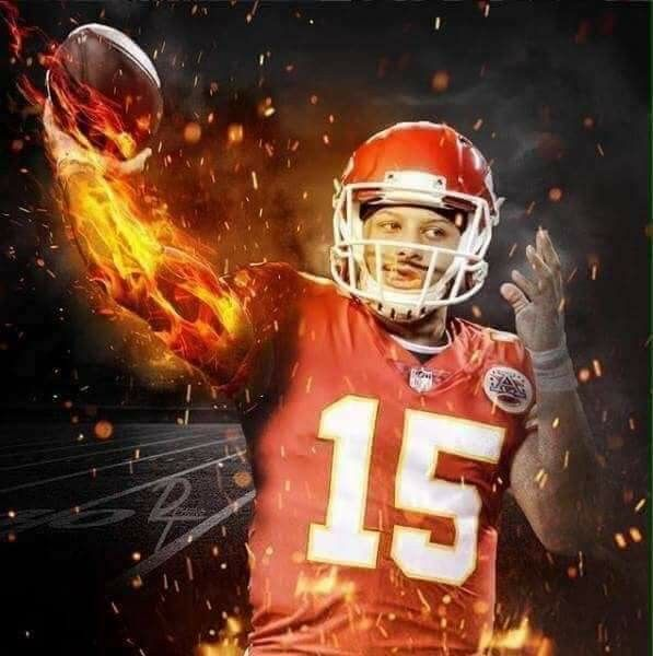 PERSONALLY CHOSEN AND SELECTED AS KANSAS CITY CHIEFS QB OF