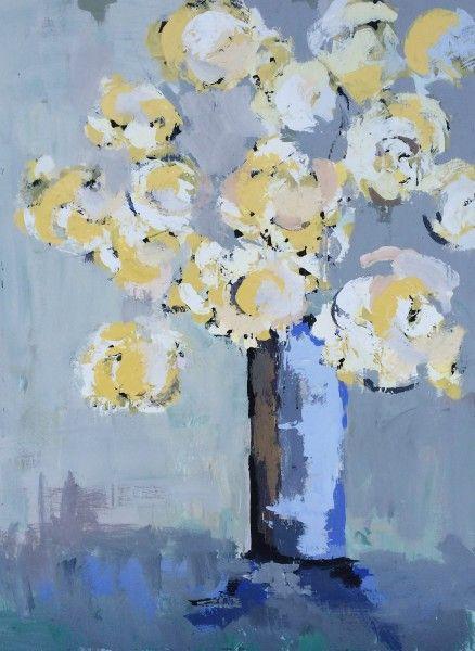 Gary Bodner, 'Quiet Corner', Mixed Media on Canvas, 48x36