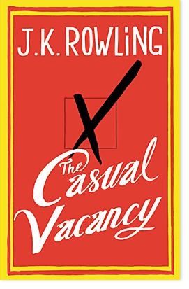 In stores 9/27/12. #thecasualvacancy CANNOT WAIT