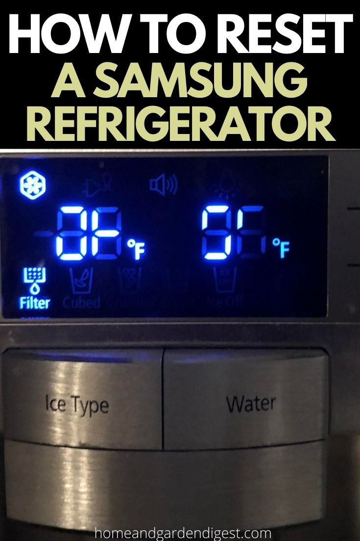 How To Reset Samsung Fridge Why Your Refrigerators Need A Reset Samsung Fridge Samsung Refrigerator Samsung