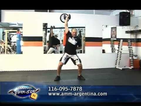 Entrenamiento explosivo en circuito para atletas de AMM (MMA) - Artes Ma...