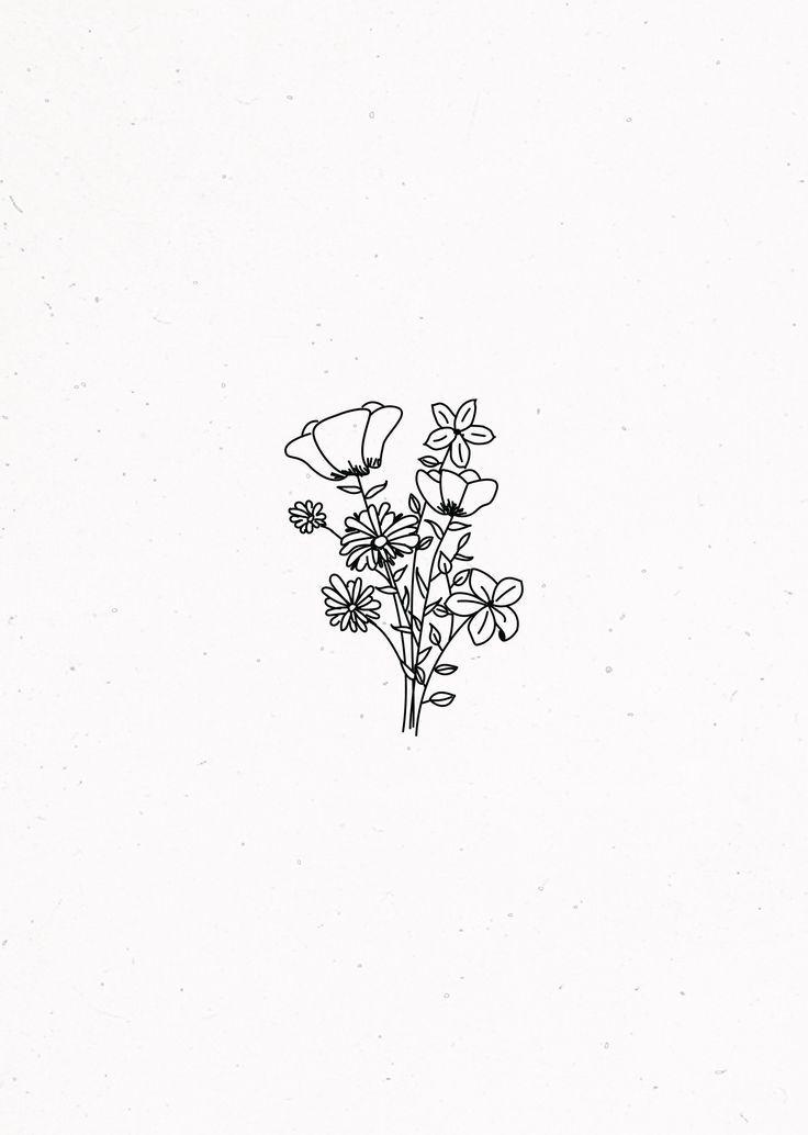 Jede Blume ist eine Seele die in der Natur blüht. Strauß Blumen Ziemlich wildes Arrangement #twigart