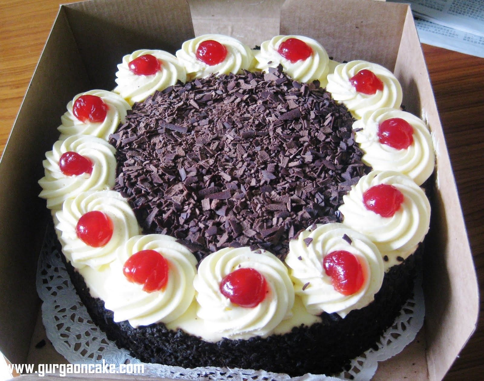The Cheesecake Shop Blackforest Torte Birthday Cake