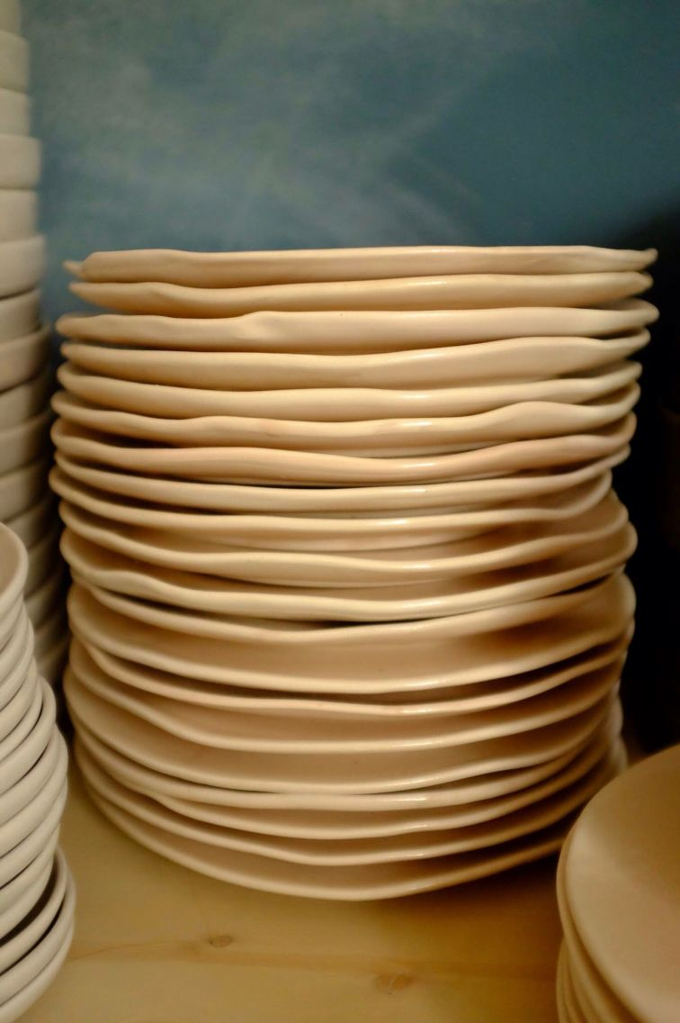Foursquare Handmade Plates Ceramic Studio Ceramics