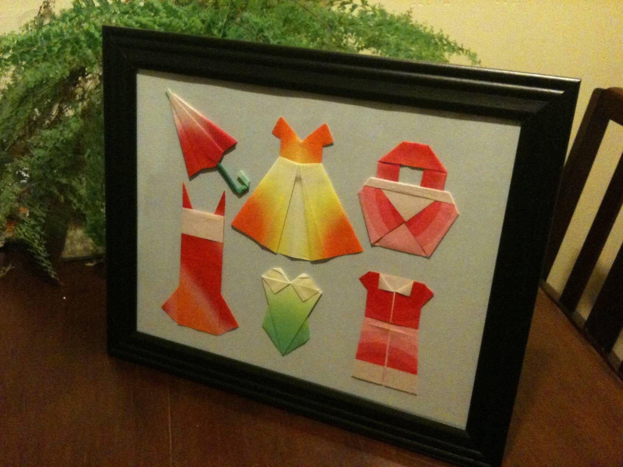 origami wardrobe googled instructions on how to make