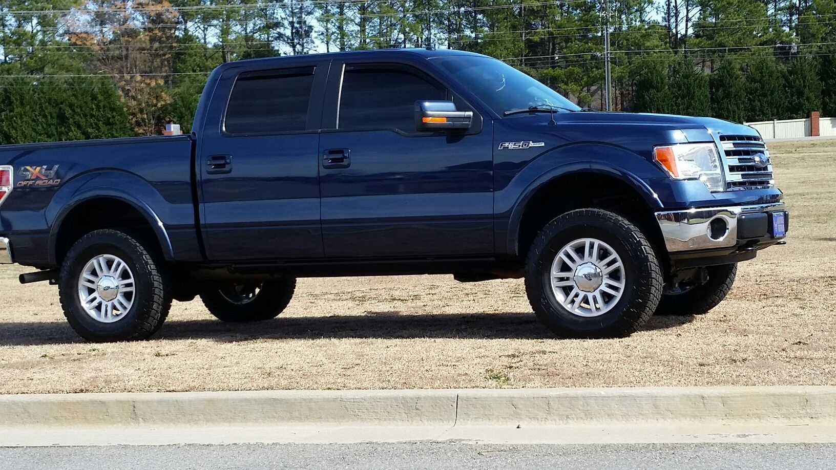 Lift tire size questions ford forum community of ford truck fans