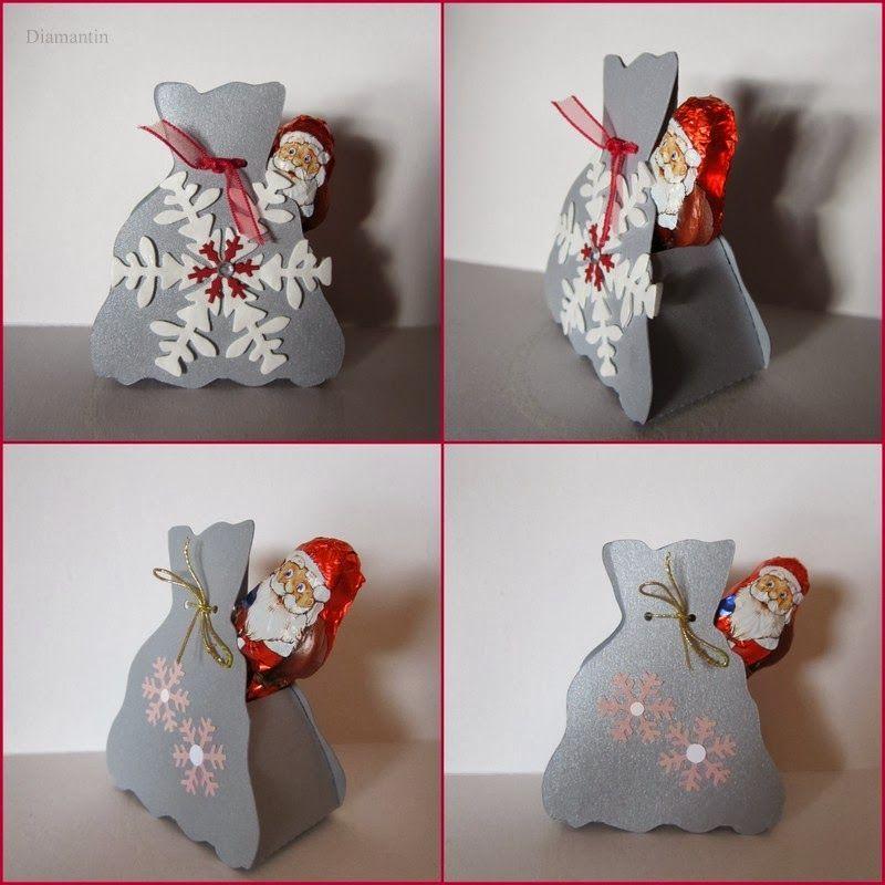 Nikolaus-Säckchen #adventkalenderbasteln