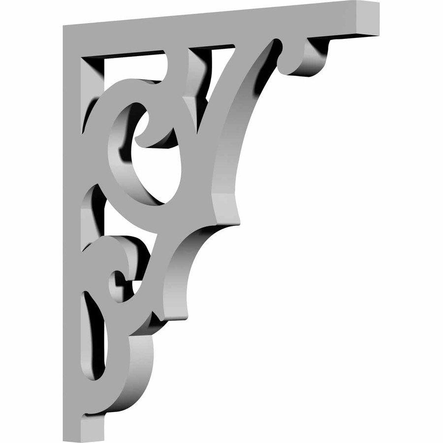 Ekena Millwork 0 875 In X 12 In Primed Polyurethane Corbel