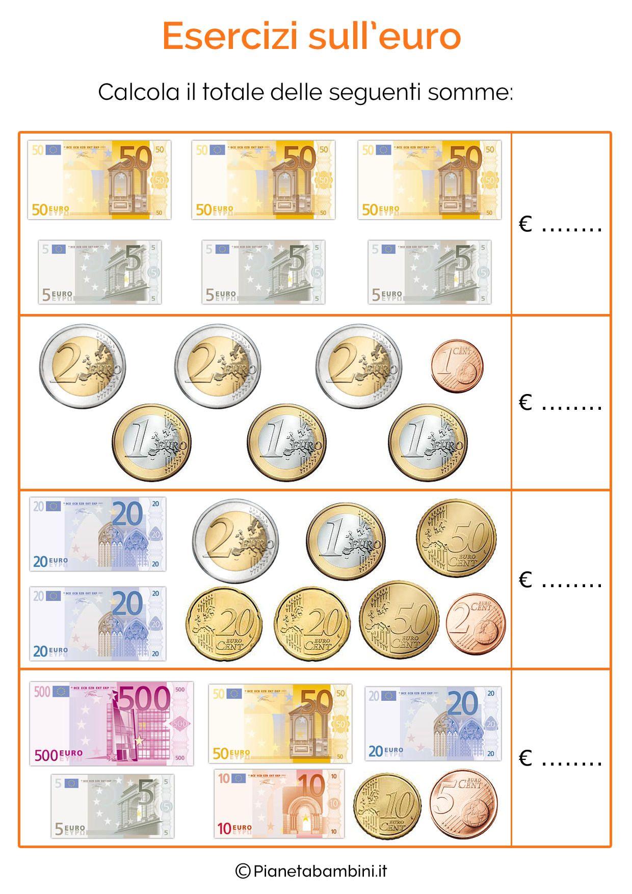 Schede didattiche sull 39 euro per bambini della scuola - Immagini in francese per bambini ...