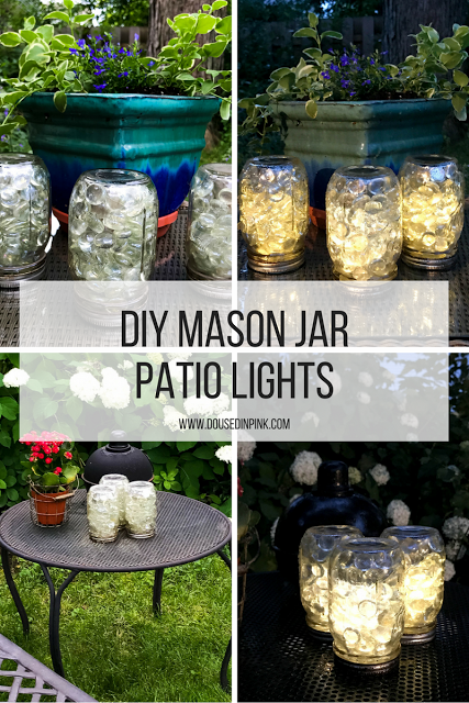 Mason Jar Patio Lights Diy