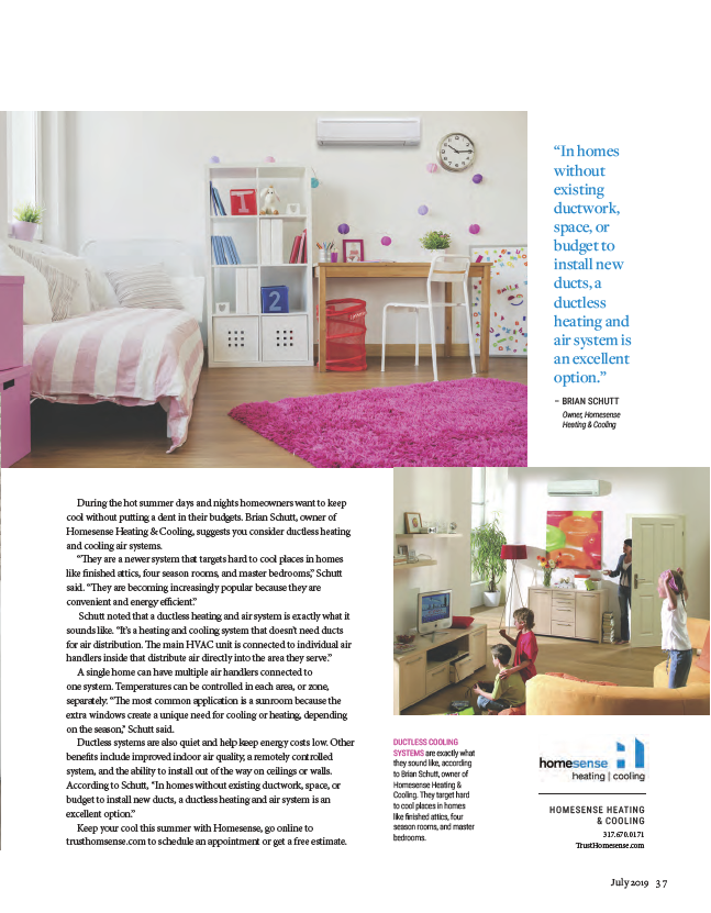 Click The Photo To Read The Full Article Ductless Cooling System