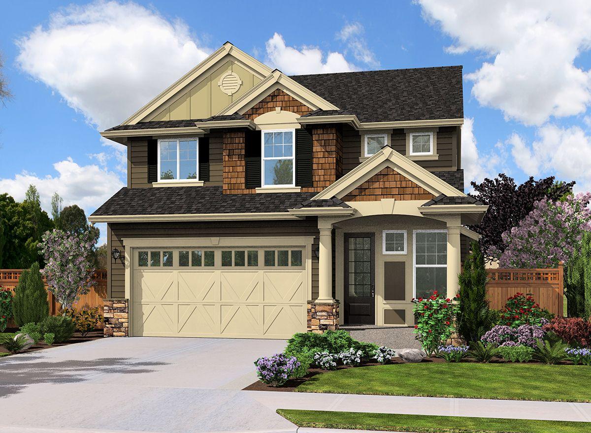 Plan 23492JD: Rugged Craftsman Home Plan   Craftsman house ...