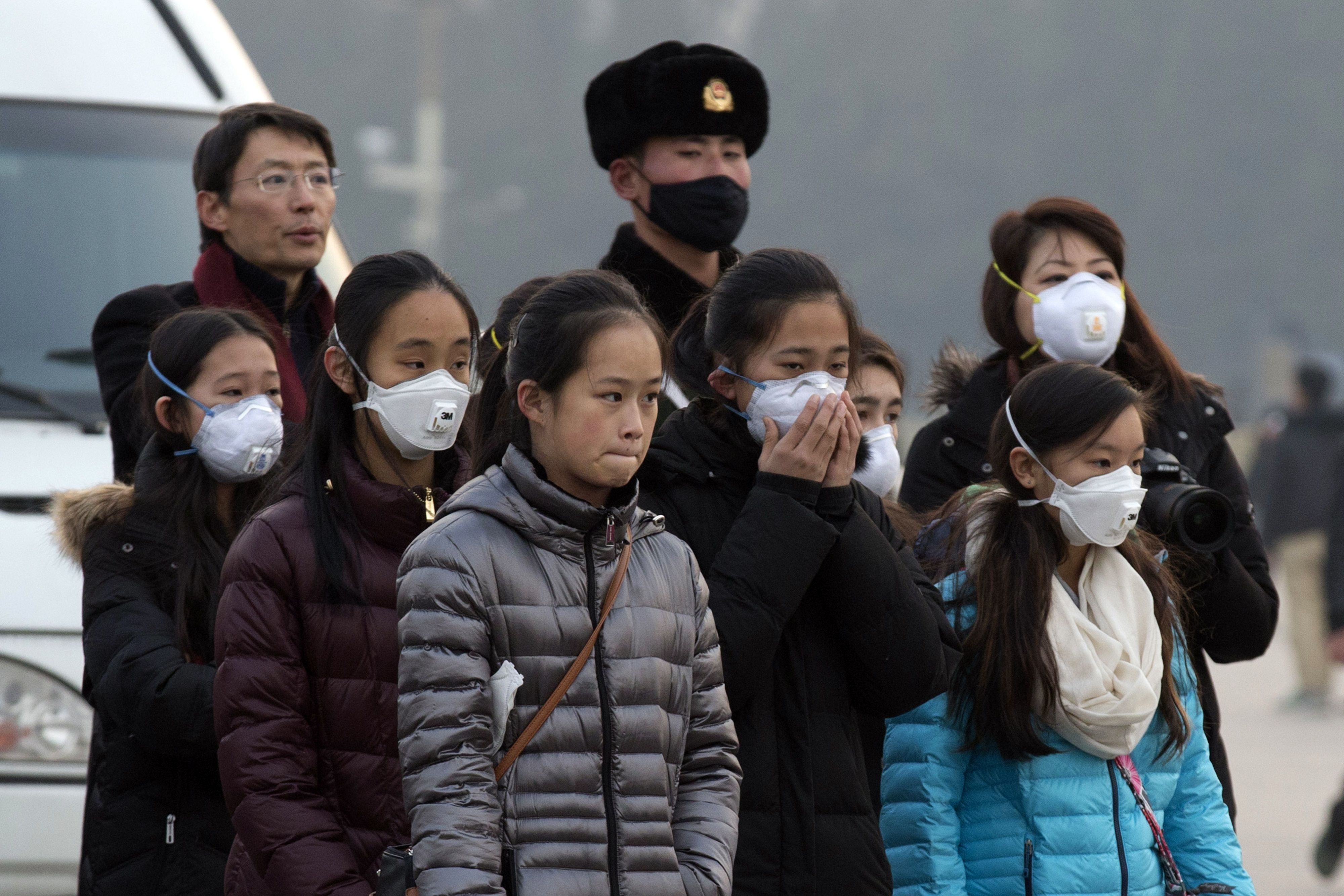 Air pollution problem grows almost daily in China's smoggy Beijing.