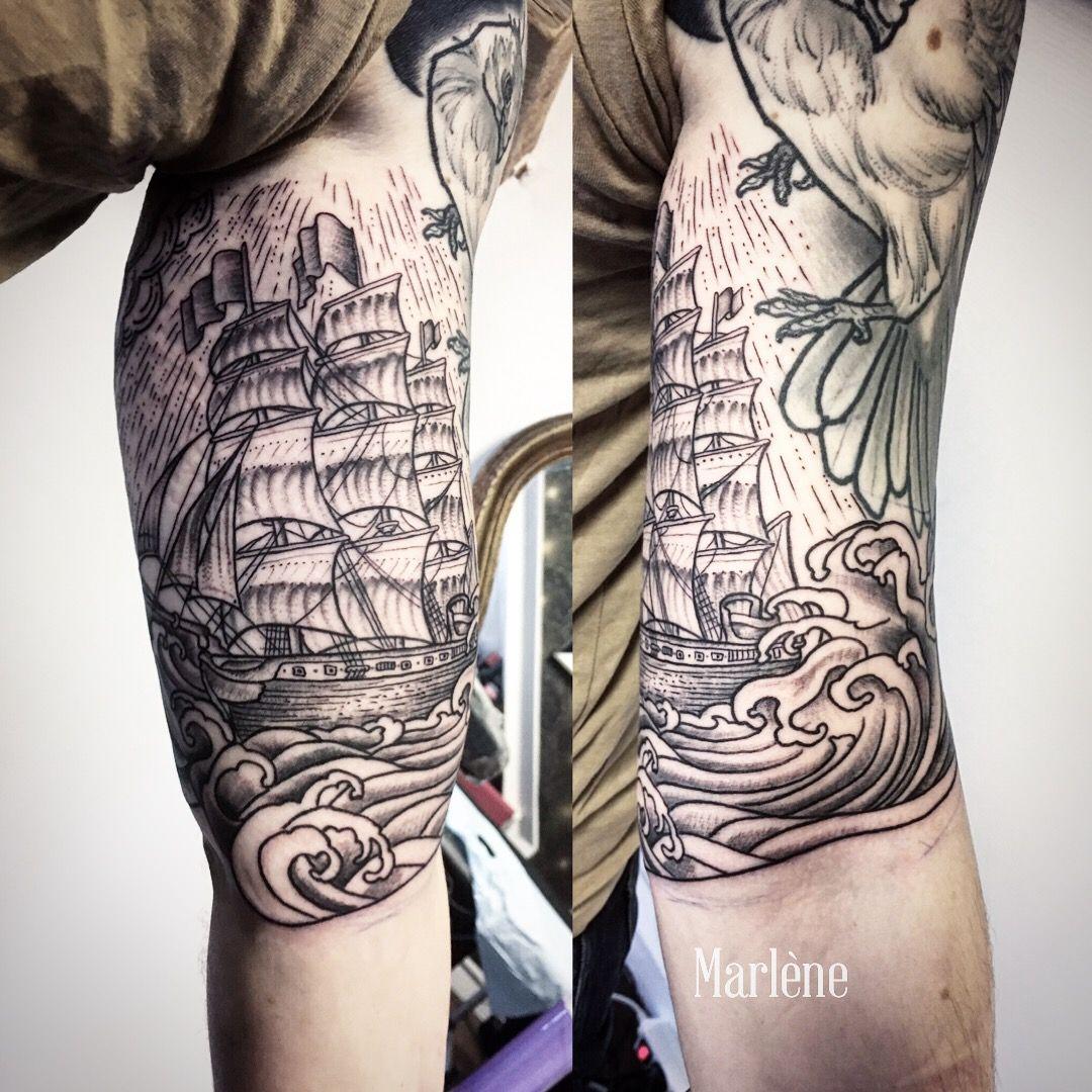 Marlenelecidre Tatouage Tattoo Illustration Gravure Engraving