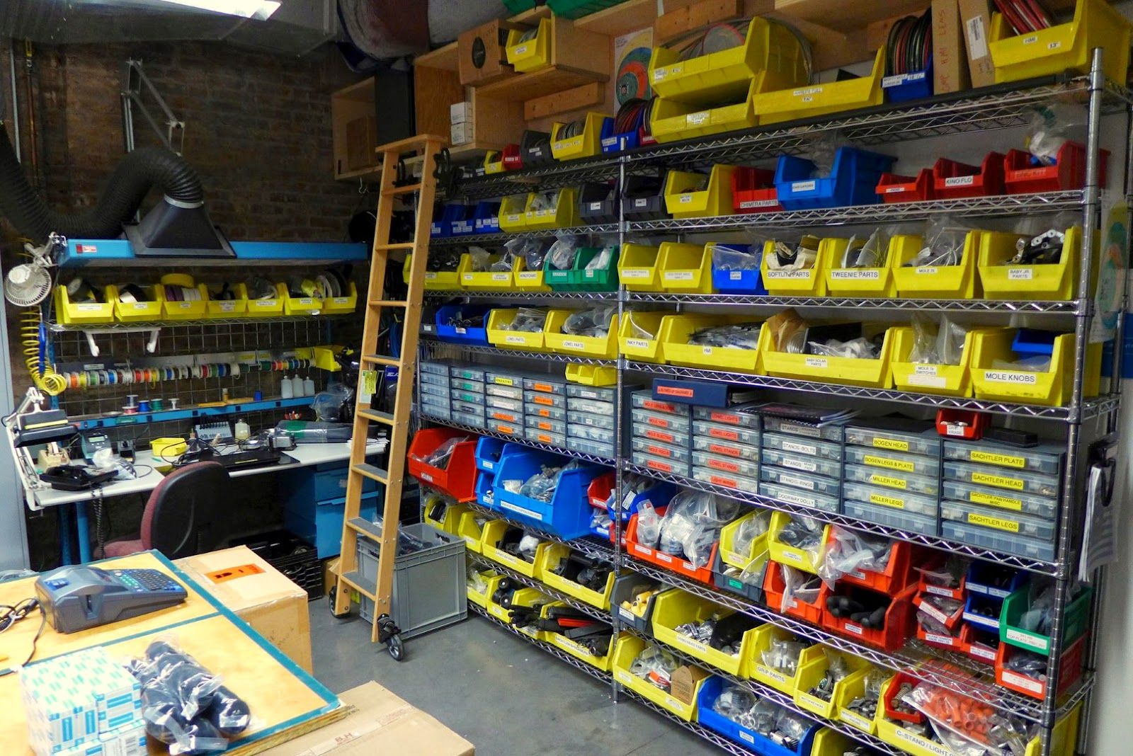 How To Organize Your Shop Organize Bins Sorting