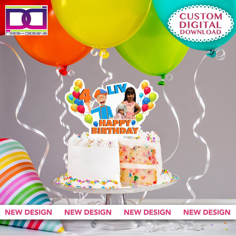 20++ Blippi cake topper printable inspirations