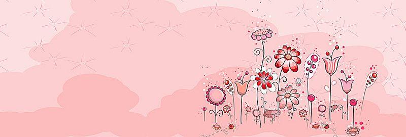 Pink Flowers Cartoon Background Cartoon Background Rose Background Free Background Photos Full hd flower animation background