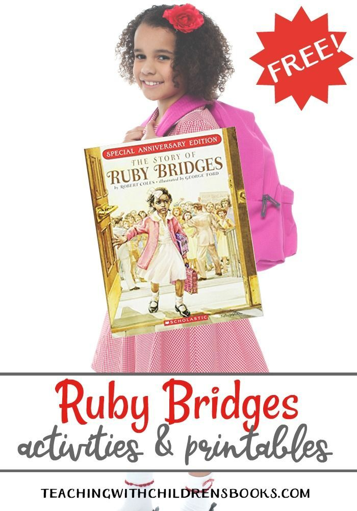 Photo of Ruby Bridges Activities and Printables for Black History Month