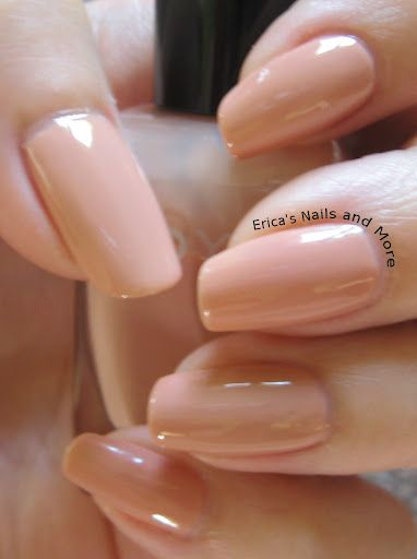 Zoya Nail Polish In The Color Summer A Soft Peach Neutral With Creme Finish 2012