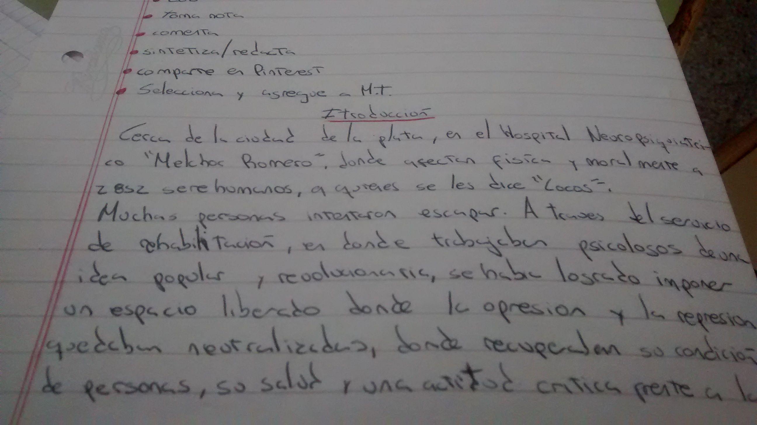 Introducción a la carta N°20   Cartas, Muros