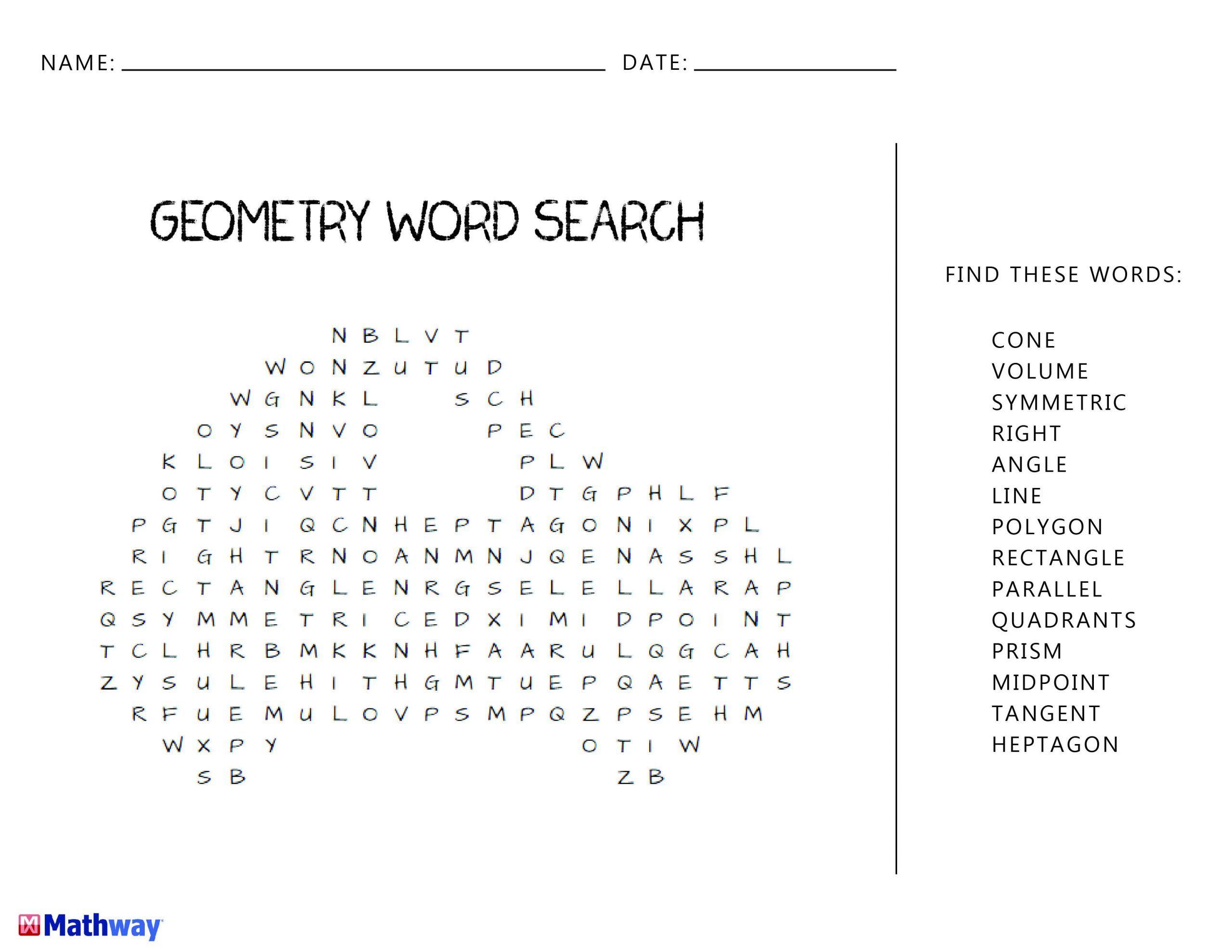 Free Math Worksheets Third Grade 3 Geometry Polygons