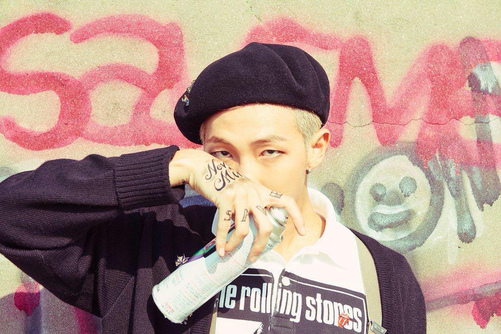 BTS Rap Monster - HwaYangYeonHwa pt.2 Concept Photo