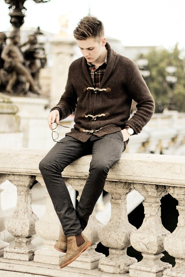 Fall Autumn Men's style outfit
