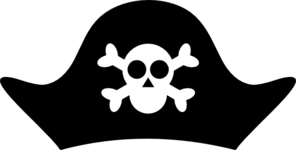 Vector Clip Art Online Royalty Free Public Domain Pirate Party Pirates Pirate Birthday