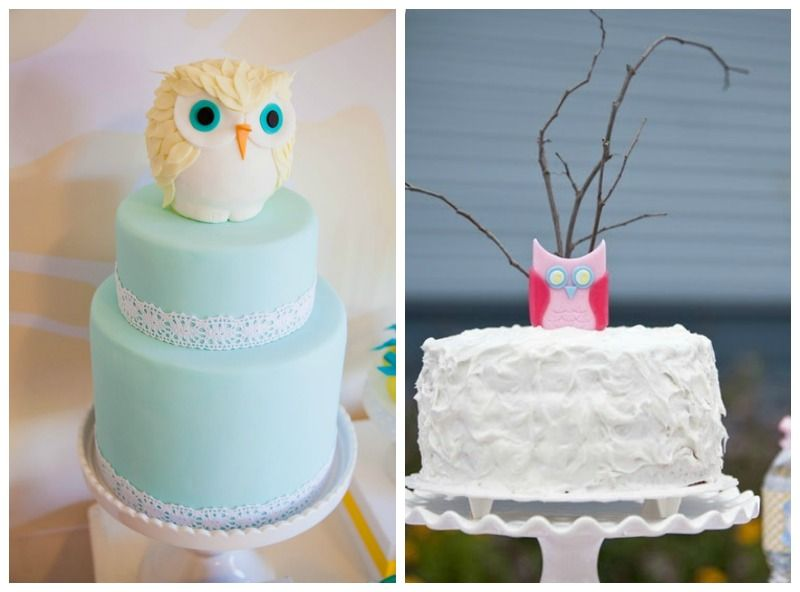 Top 5 Kids Birthday Cake Ideas Owl Theme Owl birthday parties are