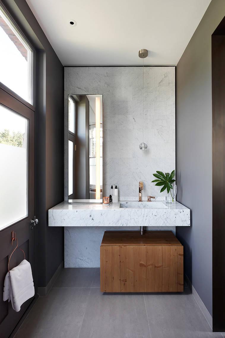 elgin mansions  contemporary  bathroom  london