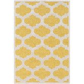 Found it at Wayfair - Arise Hadley Hand-Tufted Yellow Area Rug