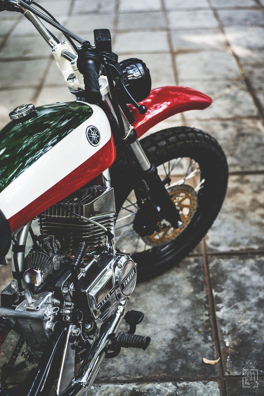 Yamaha Rx 100 A Custom Scrambler Yamaha Rx100 Yamaha Yamaha
