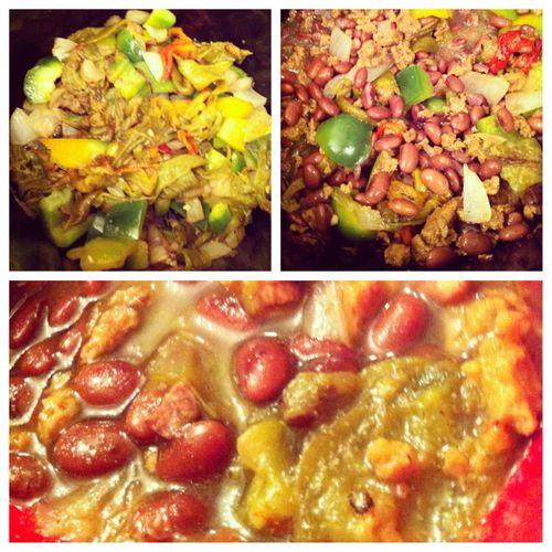 365 Days Of Vegan Food  Soy Chorizo and Black Bean Crock-Pot Stew