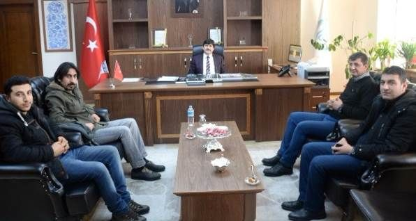 BİGACEM'den Rektör Erdal Necip Yardım'a ziyaret - Bitlis Haber