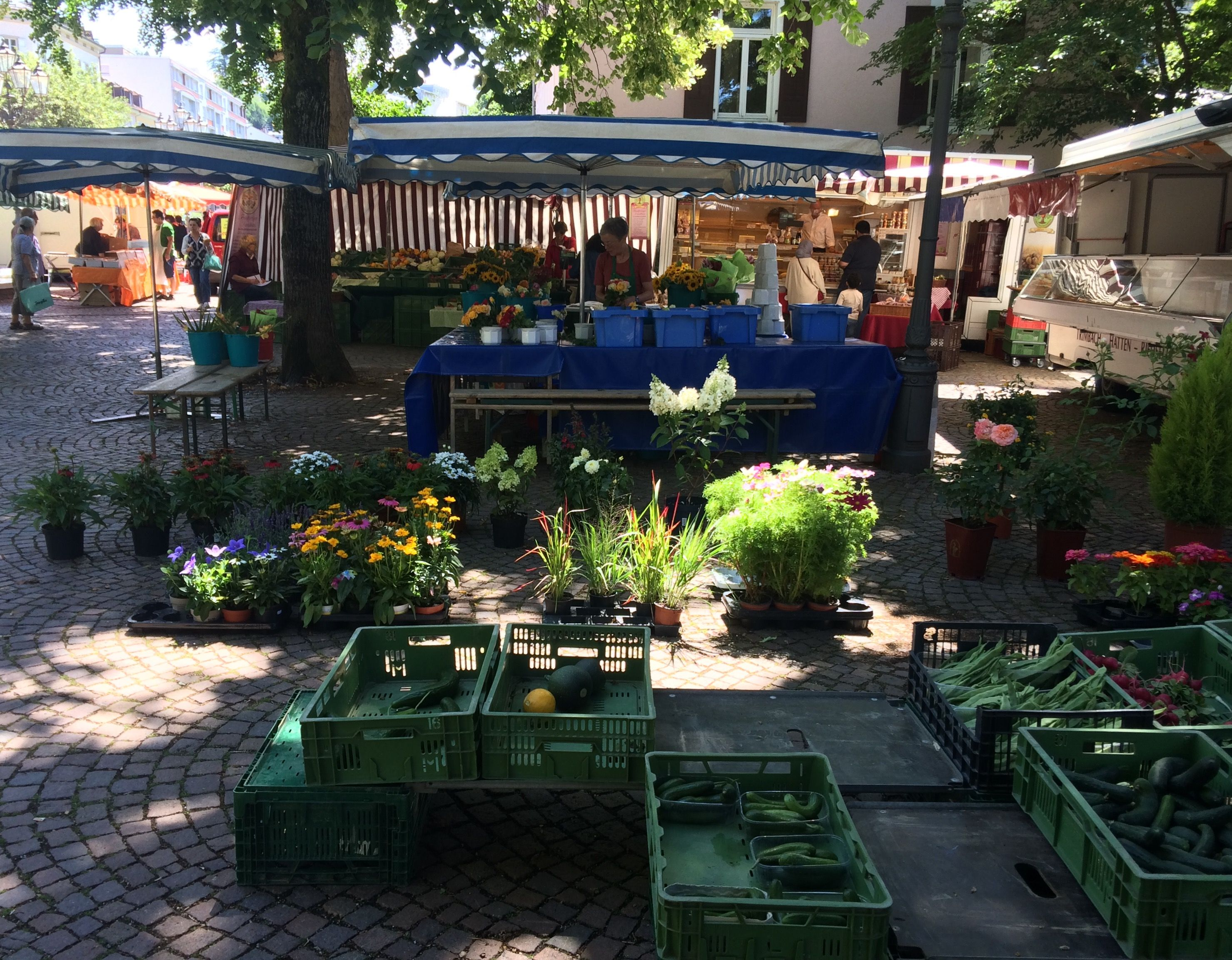 weekly market in baden baden youll find this one at the
