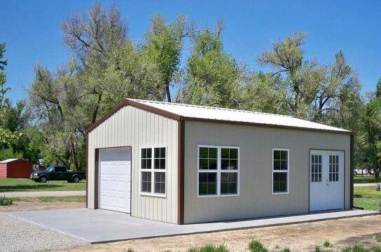 20' x 24' x 9' Pole-Barn Shed | Metal building homes ...