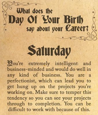 You Were Born On Saay Re Extremely Intelligent And Business Minded Would Do Well In Any Kind Of Are A Perfectionist