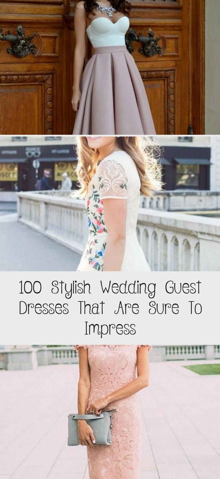 100 Stylish Wedding Guest Dresses That Are Sure To Impress Clothing Dress Guest Dresses Wedding Guest Dress Italian Wedding Dresses [ 1635 x 750 Pixel ]