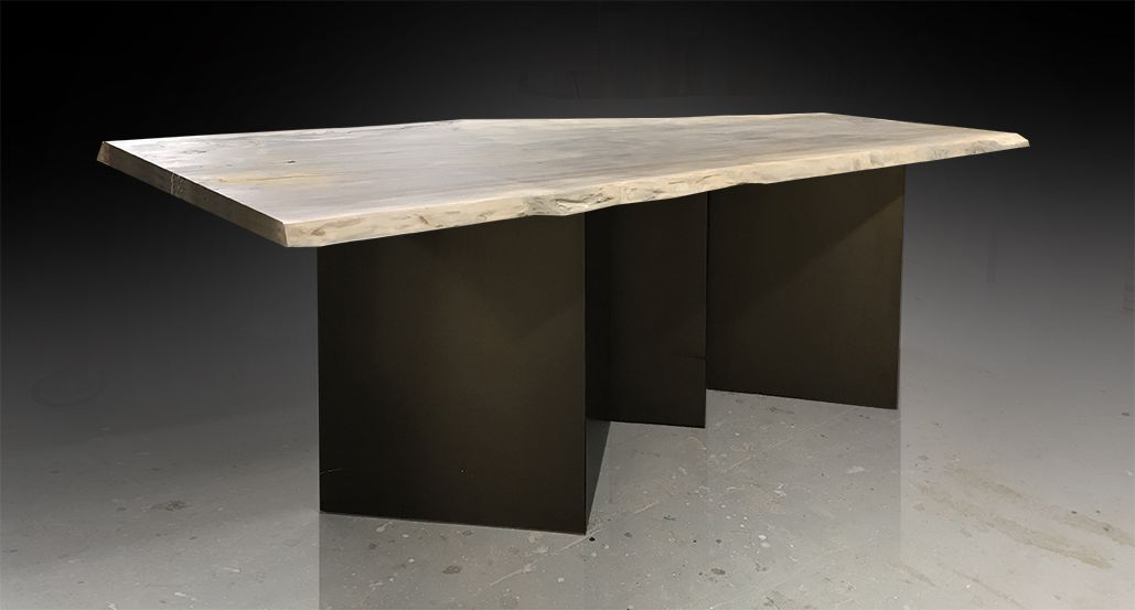 PANEL COFFEE TABLE   Live Edge Custom Furniture And Architectural Elements  Made From Reclaimed Wood And