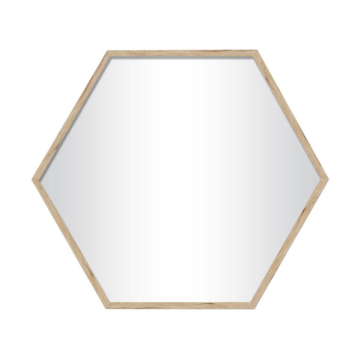 Lustro Heksagon Brzoza 37 X 38 5 Cm Lustra Dekoracyjne W Atrakcyjnej Cenie W Sklepach Leroy Merlin Home Decor Mirror Decor