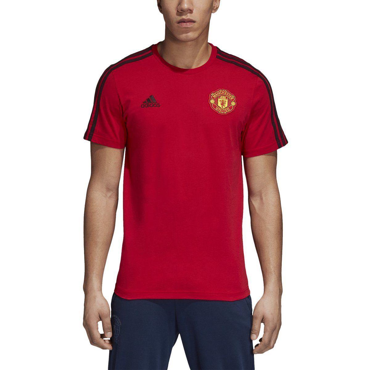 84204385c36 adidas Men s Manchester United 3-Stripes Tee