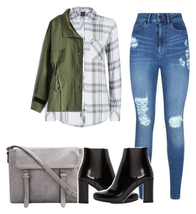 """""""Untitled #131"""" by briannagiselle on Polyvore featuring Rails, Chicwish, Lipsy and Yves Saint Laurent"""