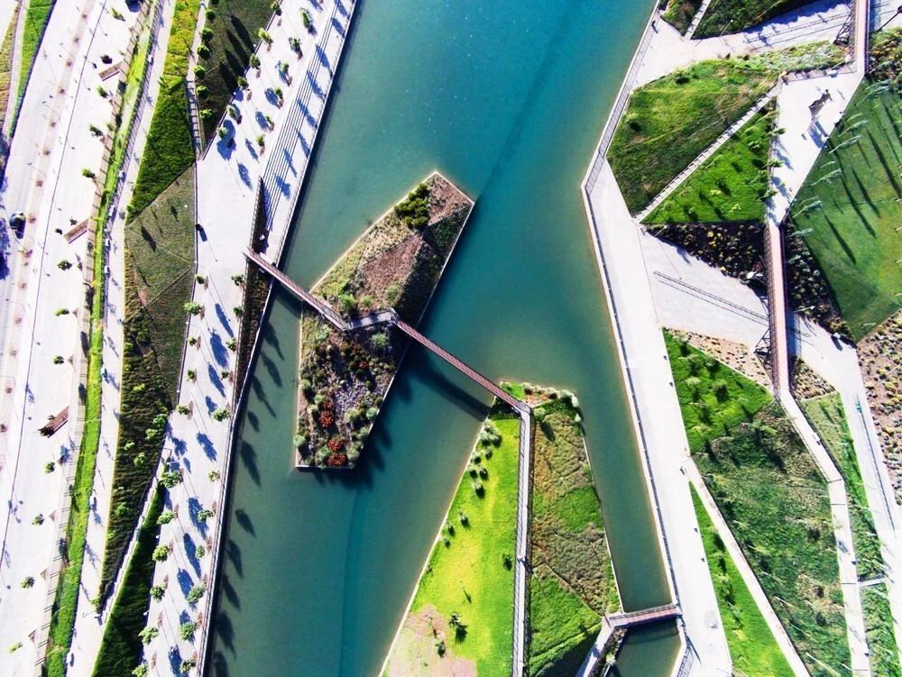 Pin By Bin Liu On Water Front River Park Waterfront Architecture Park Landscape