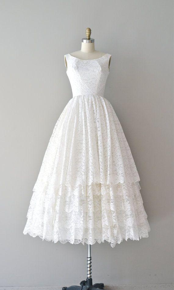 Lace 1950s Dress Vintage 50s Wedding Dress You Send Me Dress Wedding Dresses Vintage Beautiful Dresses Dresses